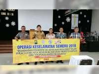 Sat Lantas Polres Bojonegoro Sosialisasikan Keselamatan di Gereja