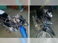 Kecelakaan Motor di Ngraho, Dua Orang Babak Belur