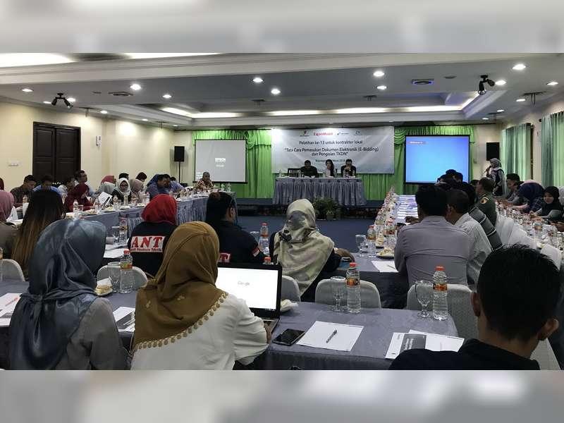 EMCL Laksanakan Pelatihan e-Bidding dan TKDN pada Kontraktor Lokal Bojonegoro