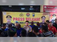 Polres Bojonegoro Rilis Ungkap Kasus Bulan Maret 2018