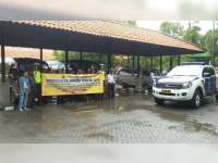 Sat Lantas Polres Bojonegoro Kampanyekan Keselamatan Berlalu Lintas di Terminal