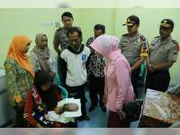 Kapolres Bojonegoro Pastikan Maulana Segera Mendapat Penanganan Medis dari Rumah Sakit