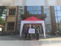 EMCL Serahkan Bantuan Tenda Untuk Galeri UMKM