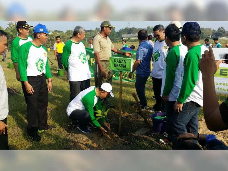PPSDM Migas Tanam 2000 Pohon di Wilayah Cepu