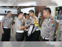 Sat Lantas Polres Bojonegoro Raih Penghargaan Dalam Pelaksanaan Operasi Keselamatan 2018
