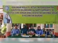 Kunker Plt Ketua TP PKK Kabupaten Bojonegoro Sapa Balita, Lansia dan ODGJ
