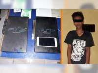 Polisi Amankan Pelaku Pencurian yang Ditangkap Warga dan Nyaris Diamuk Massa