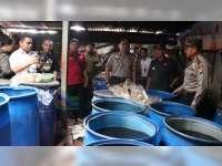 Polisi Amankan Seorang Produsen Arak Berikut Ratus Liter Arak Siap Edar