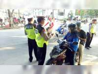 Razia Kendaraan di Bojonegoro, Polisi Tindak 269 Pelanggar