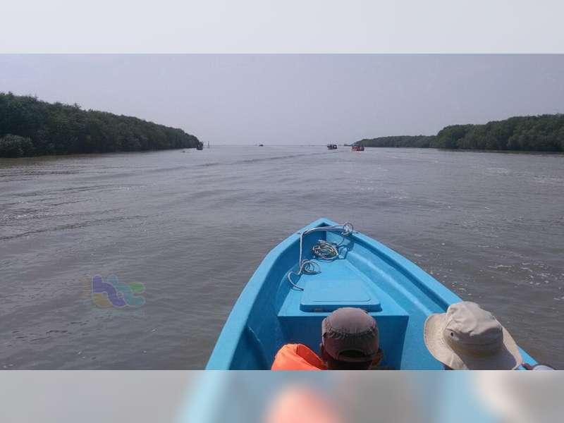 Muara Sungai Bengawan Solo Nan Eksotik