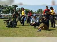 Kapolres dan Dandim 0721 Blora, Latihan Menembak Bersama