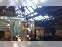 Rumah Tukang Siomay di Kepohbaru Bojonegoro Terbakar