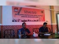 KPU Bojonegoro Sosialisasi Pilkada 2018 pada Awak Media