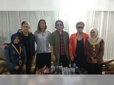 Bertemu J-Rocks Band di Belakang Panggung, MGS SMAN 1 Bojonegoro