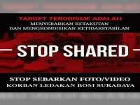 Kapolres Bojonegoro Imbau Masyarakat Tidak Share Foto dan Video Korban Bom di Surabaya