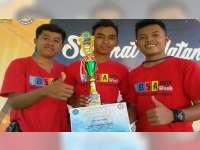 Smanusa Kradenan Blora, Juara Lomba Roket Air Antar SMA di STTR Cepu