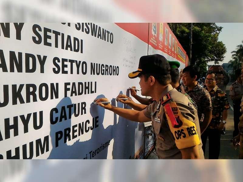 Forpimda Bojonegoro Sampaikan Belasungkawa dan Dukung Polri Tumpas Teroris