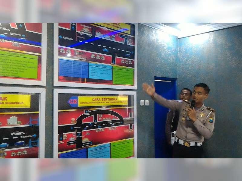 Sat Lantas Polres Bojonegoro Dirikan Pos Monitoring Center