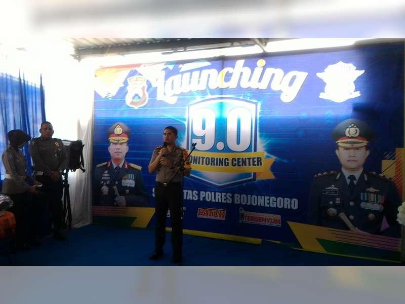 Kapolres Bojonegoro Resmikan Pos Monitoring Center