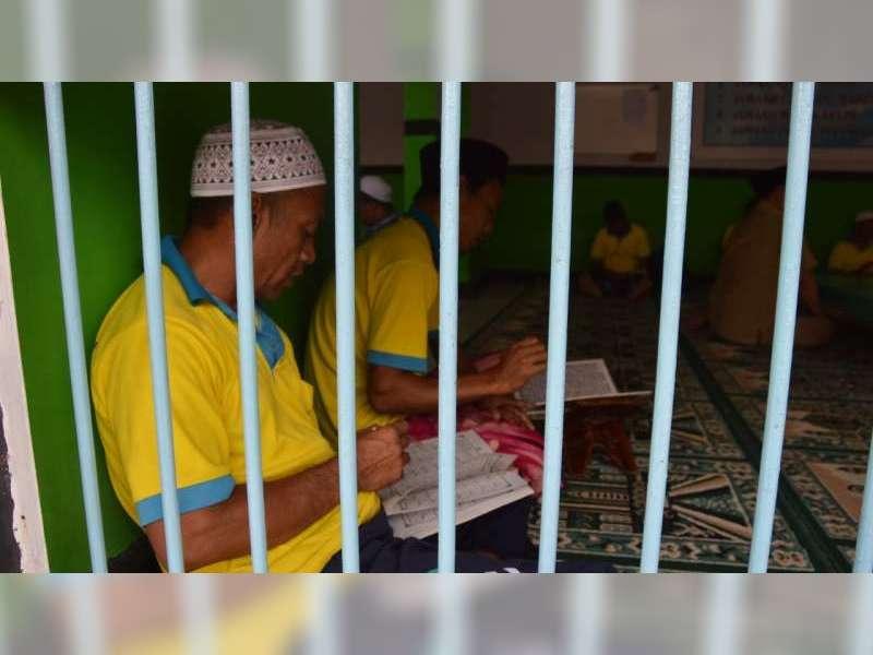 Nuansa Pesantren Ramadan di Dalam Rutan Blora