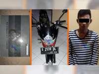 Bawa Kabur dan Gadaikan Motor Teman, Seorang Pemuda di Bojonegoro Diamankan Polisi