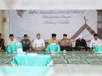 Pj Bupati Bersama Forpimda Bojonegoro, Laksanakan Safari Ramadan di Sukosewu