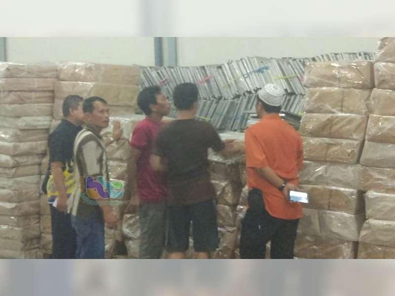 Bilik Suara untuk Pilkada Serentak 2018, Tiba di KPU Bojonegoro