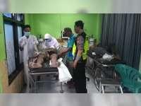 Vario Seruduk Revo di Balen Bojonegoro, Kedua Pengendara Masuk Rumah Sakit