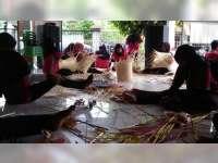 Kreativitas Ibu Rumah Tangga di Blora Sulap Bambu Jadi Berbagai Macam Barang Bernilai Jual