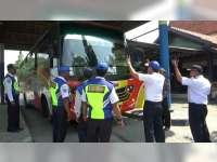 Jelang Arus Mudik Lebaran, Dishub Bojonegoro Cek Kelaikan Bus