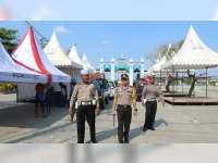 Kapolres Bojonegoro Pastikan Kesiapan Pos Pengamanan dan Pos Pelayanan Mudik Lebaran