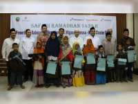 Safari Ramadan ke Blora, SKK Migas dan KKKS Cluster Blora Santuni Anak Yatim