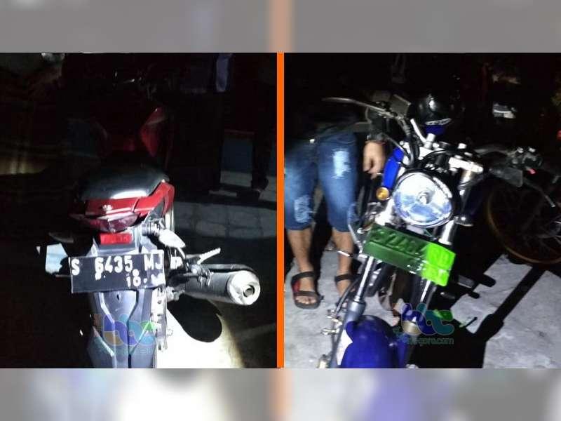 Tabrakan Motor di Baureno Bojonegoro, Seorang Pengendara Luka-Luka
