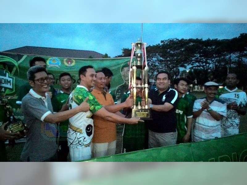 Tim BRI Cepu Raih Juara Ramadan Mini Soccer