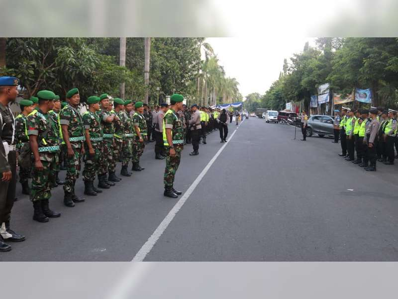 Polres Bojonegoro Terjunkan 450 Personel, Untuk Pengamanan Kampanye Rapat Umum