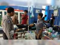 4 Motor Terlibat Kecelakaan di Baureno Bojonegoro, 2 Orang Pengendara Luka Berat