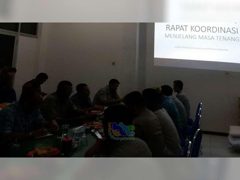 Panwaskab Bojonegoro Imbau Seluruh Paslon Tidak Lakukan Kampanye Saat Masa Tenang