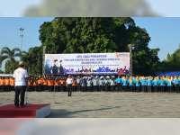 Pengawas Pemilu Kabupaten Blora Gelar Apel Siaga Pengawasan