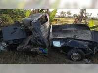 Pikap Ditabrak Kereta Api di Kalitidu Bojonegoro, Seorang Penumpang Tewas di TKP