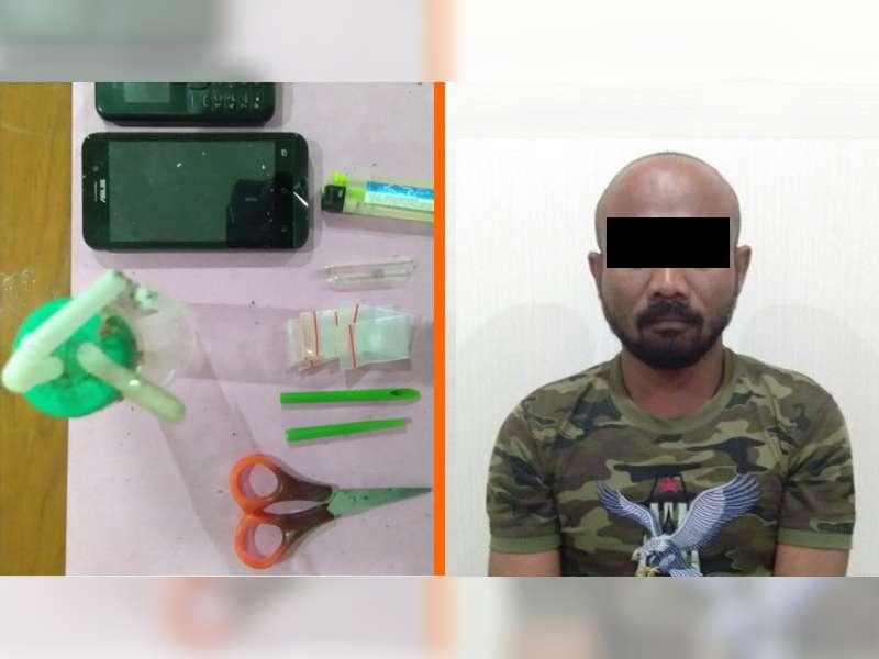 Sat Narkoba Polres Blora Tangkap Seorang Warga Bojonegoro Pengedar Sabu
