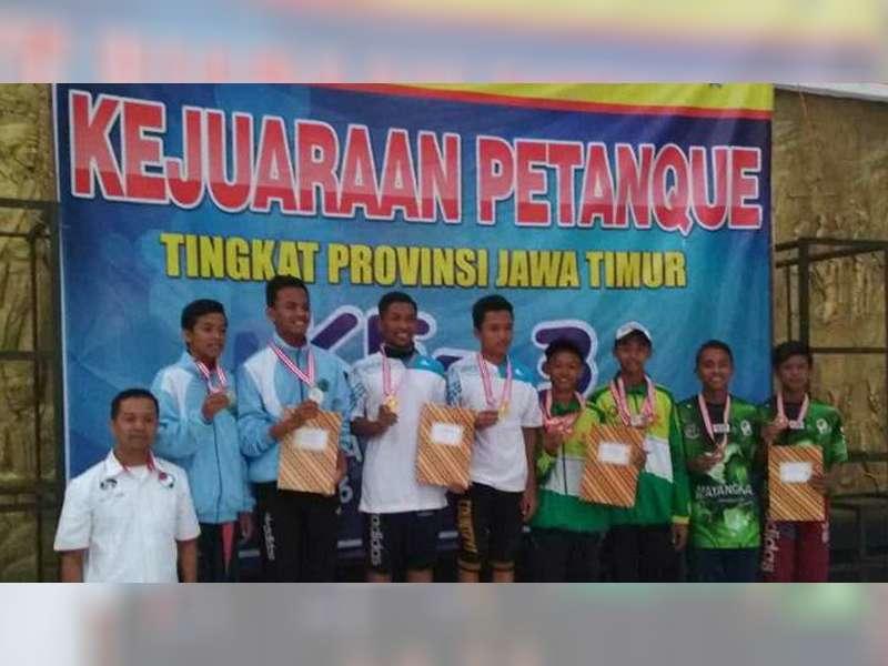 Kejurprov Petanque 2018, Atlet Bojonegoro Raih 2 Medali Emas