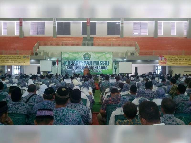 Calon Jamaah Haji Bojonegoro, Berangkat ke Tanah Suci 29 Juli 2018