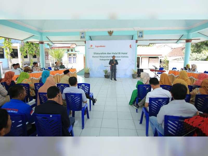 EMCL Gelar Halal Bihalal di Kecamatan Kalitidu