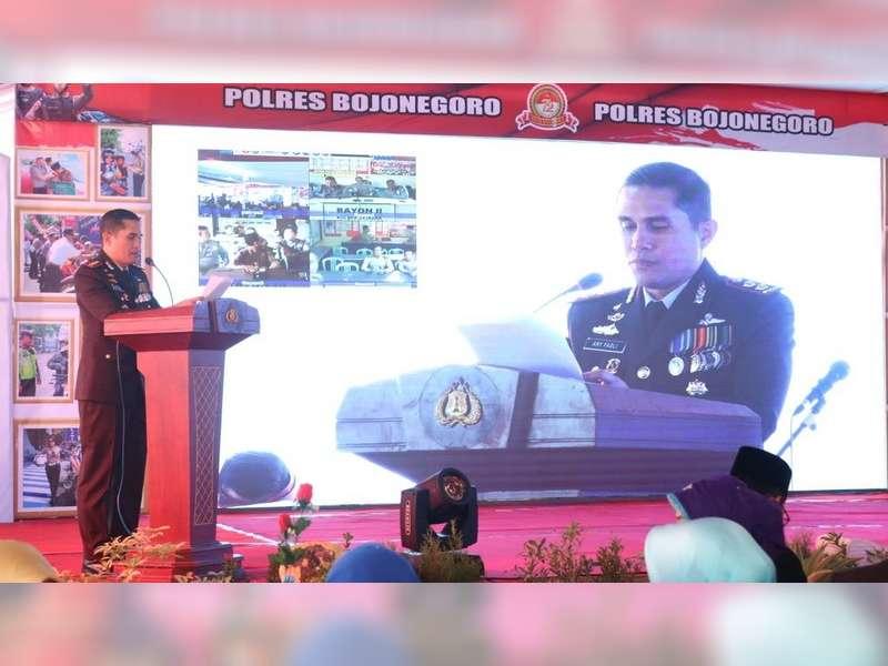 "Kapolres : Mari Jadikan Bojonegoro Sebagai ""Rumah Kita Sendiri"""