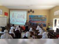 Sat Lantas Polres Blora Sosialisasikan Keselamatan Berlalulintas di Sekolah