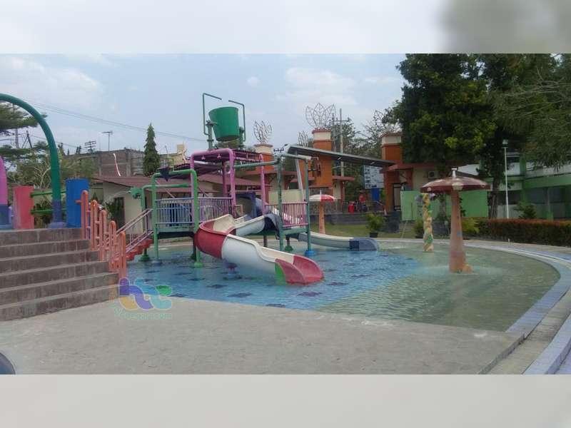 Wahana Wisata Dander Water Park Bojonegoro, Kini Sepi Pengunjung
