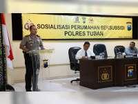 Polres Tuban Akan Bangun Perumahan Strategis Bagi Anggotanya