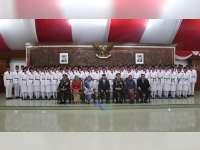 2 Orang Pelajar Asal Bojonegoro Terpilih Menjadi Anggota Paskibraka Provinsi Jawa Timur