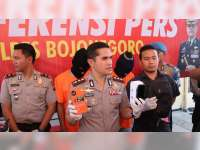 2 Orang Pelaku Jambret Warga Bojonegoro Kota, Diamankan Polisi
