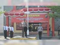 Polres Bojonegoro Laksanakan Apel Gelar Pasukan, Operasi Cipta Kondisi 2018